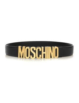 olivia-embellished-patent-leather-belt by moschino