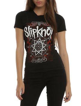slipknot-nonagram-girls-t-shirt by hot-topic