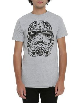 star-wars-stormtrooper-sugar-skull-t-shirt by hot-topic