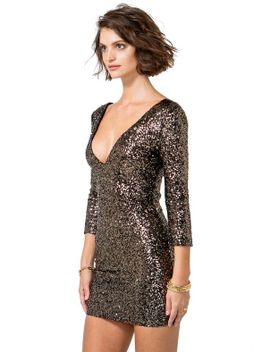 luxe-sequined-bodycon-dress by agaci