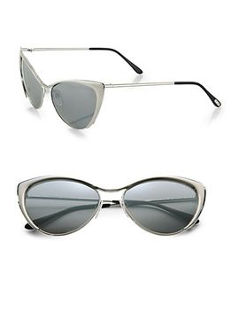 natasya-metallic-cats-eye-sunglasses by tom-ford-eyewear
