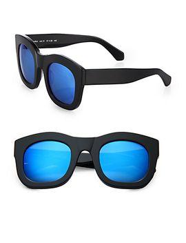 hamilton-49mm-square-sunglasses by illesteva