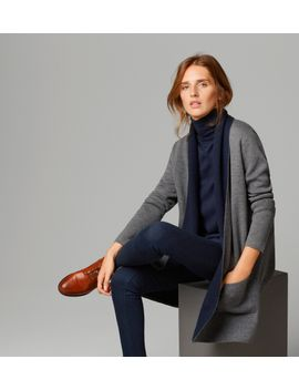 two-tone-cardigan by massimo-dutti