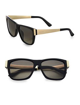 54mm-colorblocked-square-sunglasses by gucci