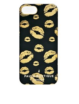 pauls-boutique-lola-gold-lips-iphone-5s-case by pauls-boutique
