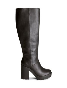 knee-high-platform-boots by h&m