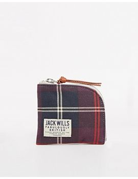 jack-wills-coin-purse-with-check-print by jack-wills