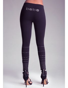 rhinestone-v-front-leggings by bebe