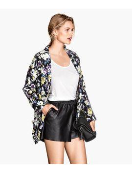wide-cut-jacket by h&m