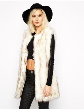 river-island-faux-fur-vest by river-island