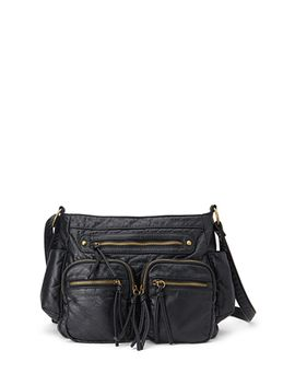 textured-faux-leather-satchel by forever-21