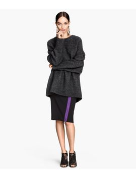 skirt-with-zip by h&m