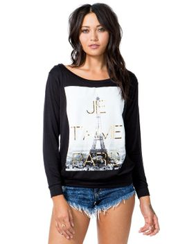 je-taime-paris-sweatshirt by agaci