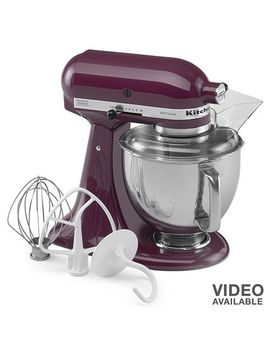 kitchenaid-ksm150ps-artisan-5-qt-stand-mixer by kohls