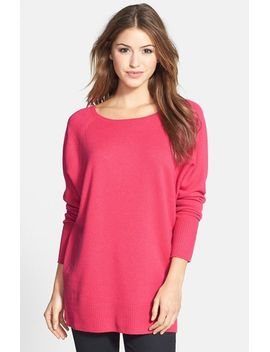 wool-&-cashmere-tunic-sweater by halogen®
