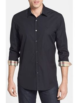 regular-fit-brit-poplin-sport-shirt by burberry