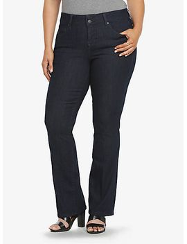 torrid-slim-fix-slim-boot-jean---dark-rinse-(short) by torrid