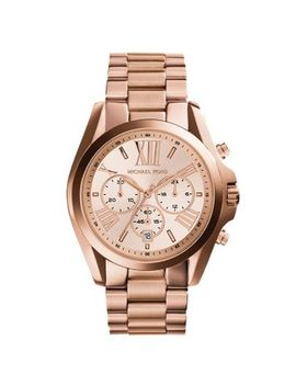 oversized-bradshaw-rose-gold-tone-watch by michael-kors
