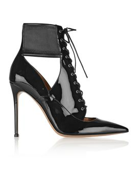 lace-up-patent-leather-ankle-boots by gianvito-rossi
