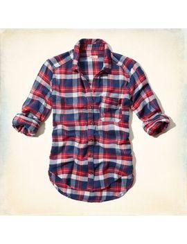 ventura-beach-flannel-shirt by hollister