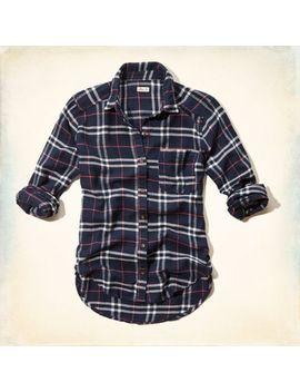 malibu-flannel-shirt by hollister