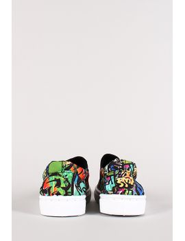 graffiti-slip-on-sneaker by urbanog