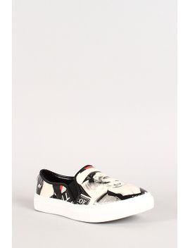 marilyn-collage-slip-on-sneaker by urbanog