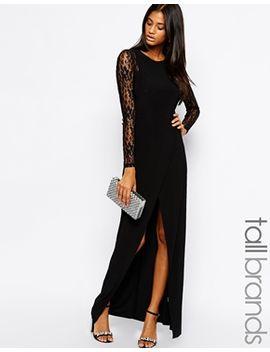 true-decadence-tall-lace-sleeve-maxi-dress by true-decadence-tall