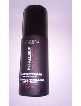 loréal-paris-infallible-pro-spray-+-set-make-up-setting-spray,-34-fl-oz by loreal-paris