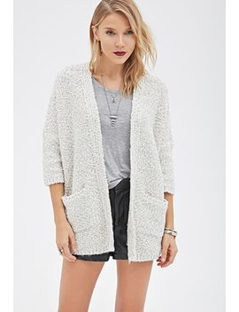 textured-knit-dolman-cardigan by forever-21