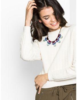 violet-flounce-collar by baublebar