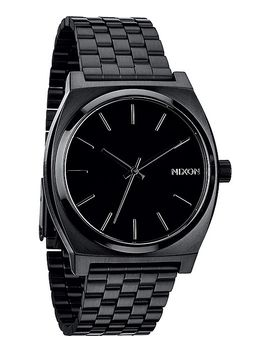 nixon-time-teller-all-black-analog-watch by nixon-watches