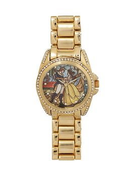 disney-beauty-and-the-beast-stained-glass-watch by hot-topic