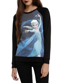 disney-frozen-elsa-dancing-girls-pullover-top by hot-topic