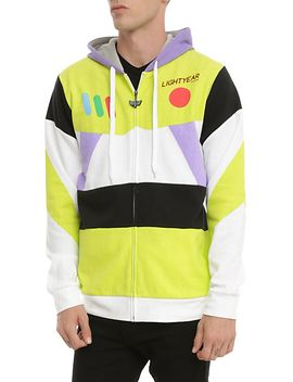 disney-toy-story-buzz-lightyear-costume-zip-hoodie by hot-topic