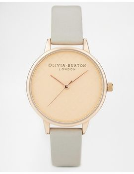 olivia-burton-modern-vintage-gray-dot-watch by olivia-burton