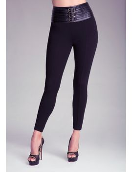 high-waist-belted-leggings by bebe