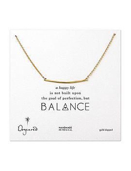 dogeared-balance-bar-necklace by generic