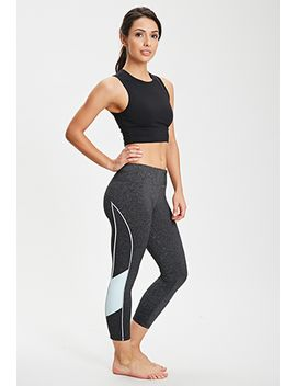 reflective-piped-heathered-run-leggings by forever-21