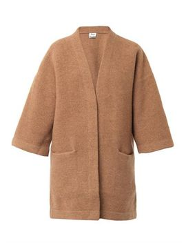 denice-boiled-wool-cardigan-(200205) by acne-studios