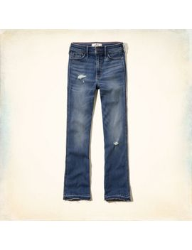 hollister-cropped-boot-jeans by hollister