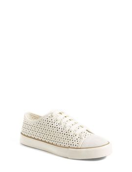 daisy-perforated-sneaker by tory-burch