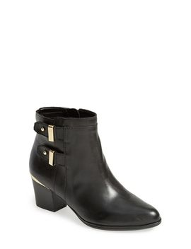 justice-leather-pointy-toe-bootie by isaac-mizrahi-new-york