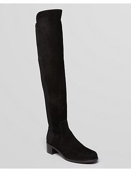 womens-reserve-suede-over-the-knee-boots by stuart-weitzman