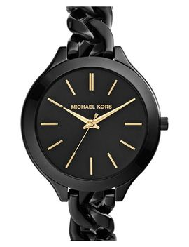 michael-kors-slim-runway-chain-bracelet-watch,-42mm by michael-michael-kors