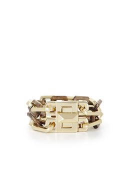 wood-chain-bracelet by bcbgmaxazria
