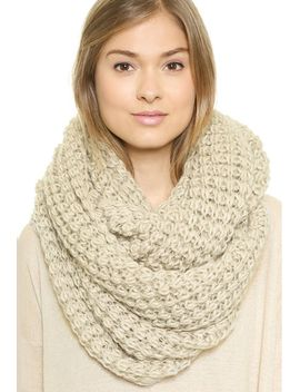 beige-chunky-wind-scarve by sheinside