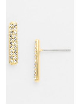 bar-stud-earrings by nadri