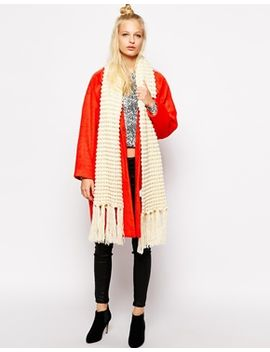 monki-chunky-knitted-lou-scarf by monki