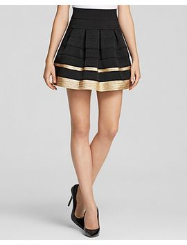 fitted-flare-skirt by alythea